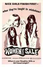Women For Sale Poster 01 Metal Sign A4 12x8 Aluminium