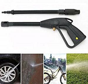 Car Jet Lance Wash Nozzle High Pressure Washer Spray Gun Washing Hose Kit New UK