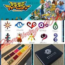 New Gold Digimon Tag Crests Bedge BOX ver.3 The Metal Version Cosplay Digivice