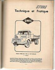 REVUE TECHNIQUE AUTOMOBILE 164 RTA 1959 CAMIONS UNIC TOUS TYPES (1è/2) JET