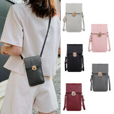 Womens Cell Phone Purse Bag Shoulder Strap Touch Screen Cross-Body Pouch Wallet