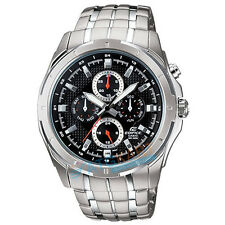 Brand New Casio Edifice EF-328D-1A Stainless Steel Band Watch