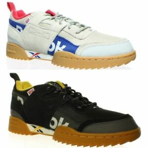 Reebok Mens Workout Plus Ripple Suede Leather Fashion Sneakers
