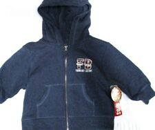 Farm Boy Authentic Brand Navy Blue Toddler Full Zip Hoodie Jacket 2T NWT