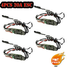 4pcs 20A SimonK ESC Speed Controller OPTO 2-4S for RC Multicopter QAV250 330 S
