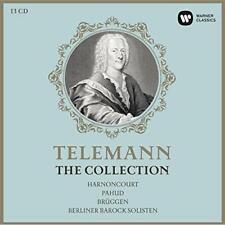 Telemann Edition (250th Anniversary) - Nikolaus Harnoncourt Frans Brü (NEW 13CD)