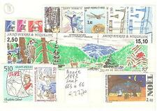 Year 1992 except # 663 - 866 stamps saint pierre and miquelon