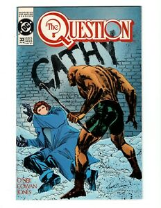 THE QUESTION #33 (VF-NM) 1989