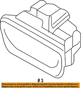 FORD OEM 11-16 Fiesta Glove Box-Latch Handle BE8Z6306072AB