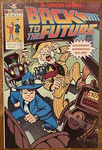 Harvey Comics BACK TO THE FUTURE Special promotional 1991 Vintage Comic *Damage*