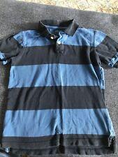 Gap Kids Boys 8 Blue Stripe Polo Shirt