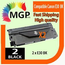 2x E30 E31 Black Toner Cartridge for Canon PC430 PC740 PC745 PC770 PC775 PC920