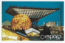 Expo 67 Montreal Canada Pavilion Katimavik Vintage Postcard
