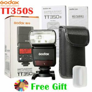 Godox TT350C TT350N TT350S TT350O TT350F TT350P TTL 2.4G HSS Flash Speedlight