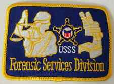USSS United States Secret Service Forensic Services Division Cloth Patch