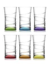LAV - Coral Trinkgläser / farbige Wassergläser / 6-teiliges Gläser Set / 350 ml