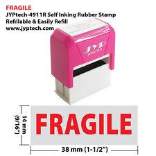 Fragile Jyp 4911r Self Inking Rubber Stamp Red Ink