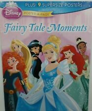Disney Princess Poster A Page Fairy Tale Moments Belle Ariel Jasmine Tiana