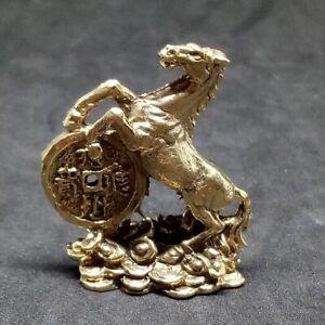 Wealth Feng Shui Horse Money Figure Talismans Lucky Casino Gamble Thai Amulet