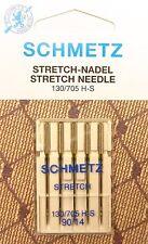5 Stretch Universal 130/705 Schmetz Nähmaschine Nadeln Flachkolben 90