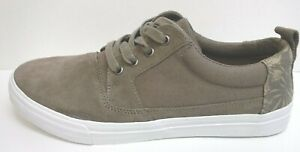 Toms Size 10.5 Sneakers Desert Taupe Hibiscus New Mens Shoes