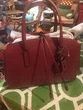 Coach NWT Cooper Carryall In Glove Leather Bordeaux