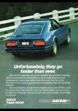 "1982 NISSAN DATSUN 280ZX AD A1 CANVAS PRINT POSTER 33.1""x23.4"""