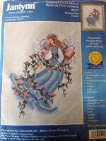 Black Swan Designs Morning Glory Counted cross stitch Kit, Janlynn Sealed