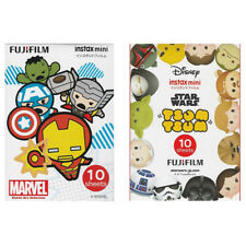 Marvel Avengers Star Wars Tsum Tsum FujiFilm Instax Mini Film Polaroid 20 Photos