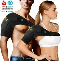 Adjustable Shoulder Support Back Brace Rotator Cuff AC Joint Dislocated Strap A