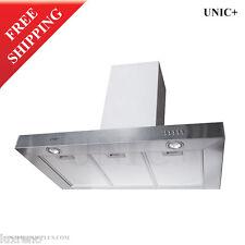 """30"""" Stainless Steel Designer Kitchen Wall Mount Range Hood Ventilation KRW003"""