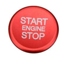 engine start stop push button knob key switch decorative ring trim for Alfa