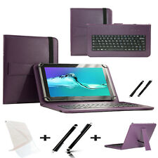 "3 IN 1 SET 10.1"" Qwerty Keyboard Case For Samsung Galaxy Note 10.1  - Purple"