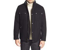 NEW Cole Haan Melton Coat BLACK Sz XL  $295