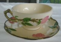 Vintage Franciscan Gladding McBean & Co. Desert Rose USA Made Cup & Saucer Set