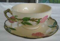 Vintage Franciscan Gladding McBean & Co. Desert Rose USA Made Cup & Saucer Set