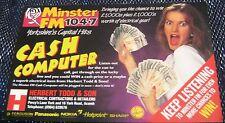 Advertising Radio Minster FM Yorkshire - unposted
