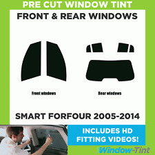 Pre Cut Window Tint - Smart Forfour 2005-2014 - Full Kit