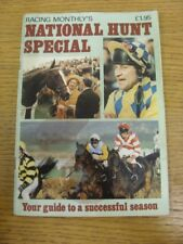1987/1988 Horse Racing: Racing Monthly's National Hunt Special, Guide To A Succe