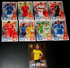 MATCH ATTAX 12/13  2012/2013 (15 Karten) + 15/16  2015/2016  (9 Karten)