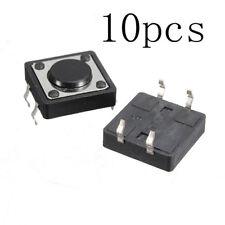 10pcs 12*12*4.3MM Quality Mini PCB Momentary Tactile Push Button Switch SPST XV