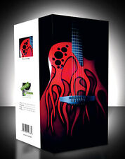 Ovation Red Flame GUITAR BLANK card - Birthday - Anniversary - Party Invitations