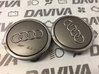 2x 2002 2003 Audi A3 A4 A6 Alloy Wheel Centre Cap Cover Plastic Trim 4B0601170A