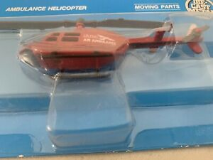 ERTL Replica Air&Space Ambulance Helicopter Die Cast LIfe Flight EMS NIP SEALED