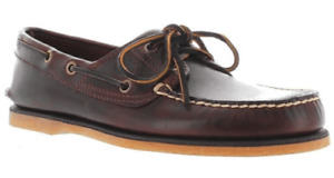 Timberland Classic Boat Shoe 025077 MD Brown Full Grain Men 12 New