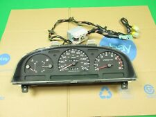 94-97 NISSAN PICKUP D21 HARDBODY 2.4 MT INSTRUMENT CLUSTER GAUGE W/ HARNESS USED