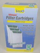NEW Tetra Medium Filter Cartridges, 3 Pack, for 2-10 Gallon Fish Tank. 26218-919