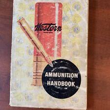 Vintage Lyman Handbook of Cast Bullets Guide Western Ammunition Handbook 1952