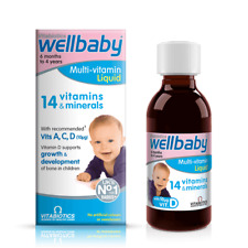 Multi-Vitamin Liquid, 150 ml Wellbaby Vitabiotics