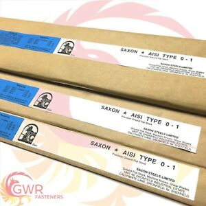4mm Ground Flat Stock - 01 Tool Steel Gauge Plate - Various Widths & Lengths